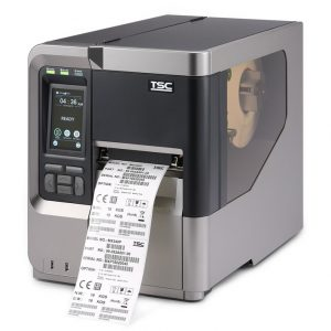 Printer printing labels